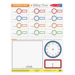 Telling Time Write-a-Mat