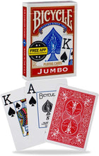 Load image into Gallery viewer, Bicycle Playing Cards - Jumbo