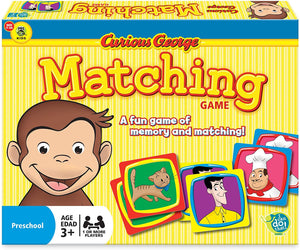 Curious George Matching Game