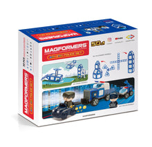 Load image into Gallery viewer, Magformers Amazing Police 50Pc Set