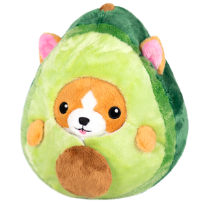 Squishable Undercover Corgi in Avocado