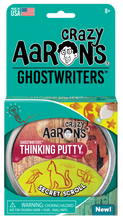 Load image into Gallery viewer, Crazy Aaron's Thinking Putty - Ghostwriters - Secret Scroll
