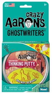 Crazy Aaron's Thinking Putty - Ghostwriters - Secret Scroll