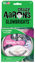 Load image into Gallery viewer, Crazy Aaron's Thinking Putty - Glowbrights - Enchanting Unicorn
