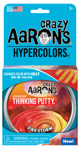 Crazy Aaron's Thinking Putty - Hypercolors - Fire Storm