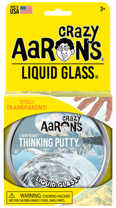 Crazy Aaron's Thinking Putty - Liquid Glass  - Liquid Glass