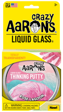 Load image into Gallery viewer, Crazy Aaron's Thinking Putty - Liquid Glass - Rose Lagoon