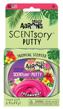 Load image into Gallery viewer, Crazy Aaron's Thinking Putty - SCENTsory-Tropical - Dreamaway