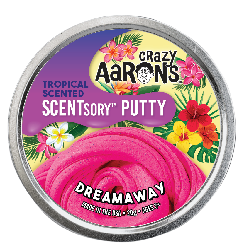 Crazy Aaron's Thinking Putty - SCENTsory-Tropical - Dreamaway