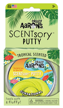 Load image into Gallery viewer, Crazy Aaron's Thinking Putty - SCENTsory-Tropical - Jungaloha