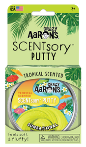 Crazy Aaron's Thinking Putty - SCENTsory-Tropical - Jungaloha