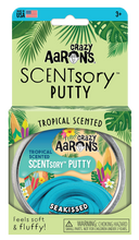 Load image into Gallery viewer, Crazy Aaron's Thinking Putty - SCENTsory-Tropical - Seakissed