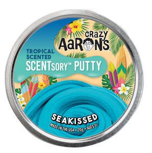 Crazy Aaron's Thinking Putty - SCENTsory-Tropical - Seakissed
