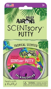 Crazy Aaron's Thinking Putty - SCENTsory-Tropical - Splashcooler