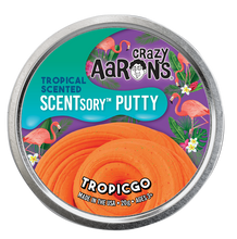 Load image into Gallery viewer, Crazy Aaron's Thinking Putty - SCENTsory-Tropical - Tropicgo