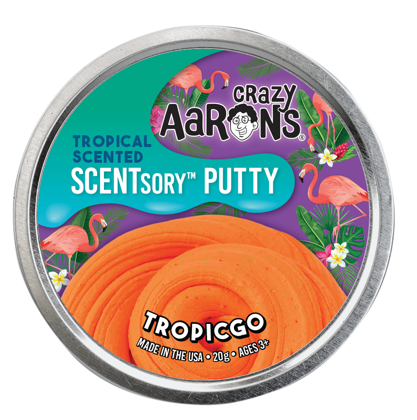 Crazy Aaron's Thinking Putty - SCENTsory-Tropical - Tropicgo