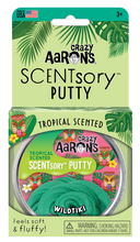 Load image into Gallery viewer, Crazy Aaron's Thinking Putty - SCENTsory-Tropical - Wildtiki