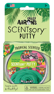 Crazy Aaron's Thinking Putty - SCENTsory-Tropical - Wildtiki