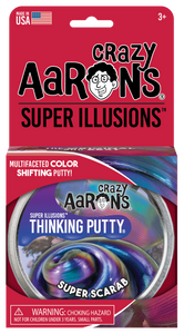 Crazy Aaron's Thinking Putty - Super Illusions - Super Scarab