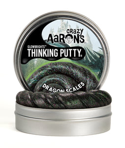 Crazy Aaron's Thinking Putty - Glowbrights - Dragon Scales