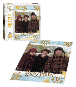 "Harry Potter ""Christmas at Hogwarts"" - 550pc Puzzle"