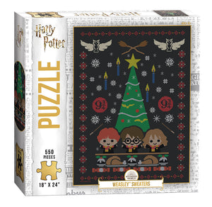 "Harry Potter ""Weasley Sweaters"" - 550pc Puzzle"