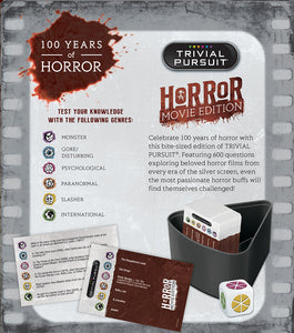 Horror Movie Edition Trivial Pursuit