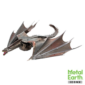 Metal Earth Iconx Game of Thrones Drogon