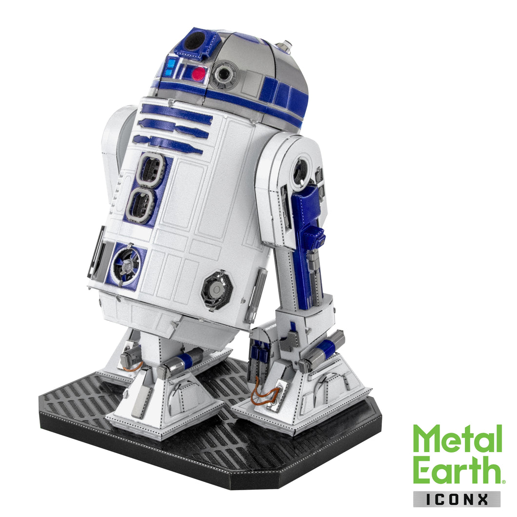 Metal Earth Iconx Star Wars R2-D2 Color