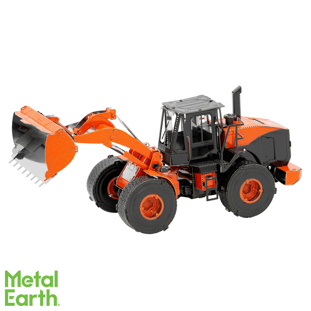 Metal Earth Wheel Loader - Color
