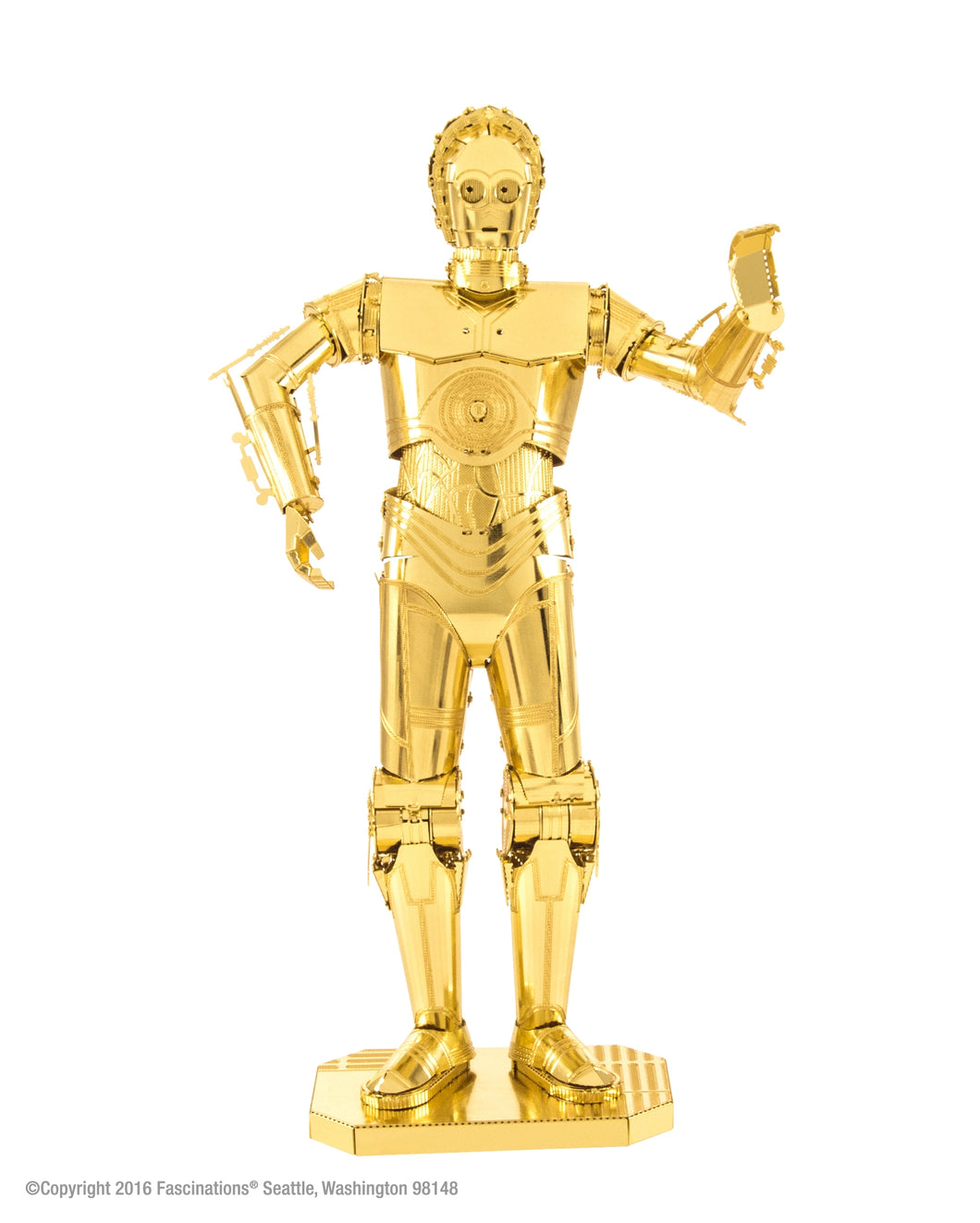 Metal Earth Star Wars C-3PO (Gold)