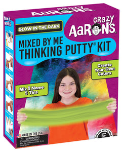 Crazy Aaron's Thinking Putty - Kits - Mixed By Me - Glow