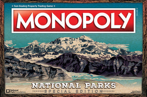 National Parks 2020 Monopoly