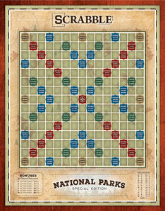 National Parks Scrabbble