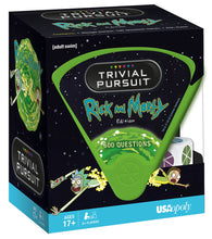 Load image into Gallery viewer, Rick and Morty Trivial Pursuit