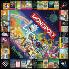 Load image into Gallery viewer, Rick and Morty Monopoly
