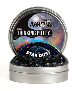 Crazy Aaron's Thinking Putty - Cosmic Glow - Star Dust