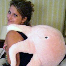 Squishable Pink Octopus 15""