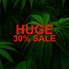 HUGE 30% OFF SALE ON CBD HEMP FLOWER
