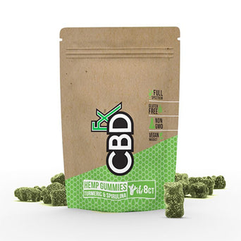 CBDfx CBD Hemp Gummies 8-Count