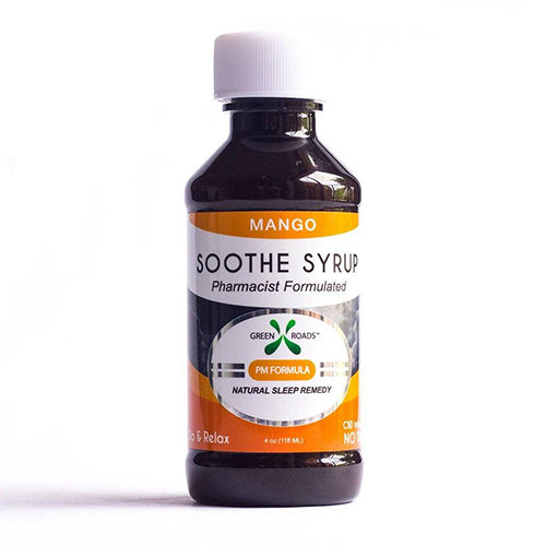 Green Roads Mango CBD Soothe Syrup
