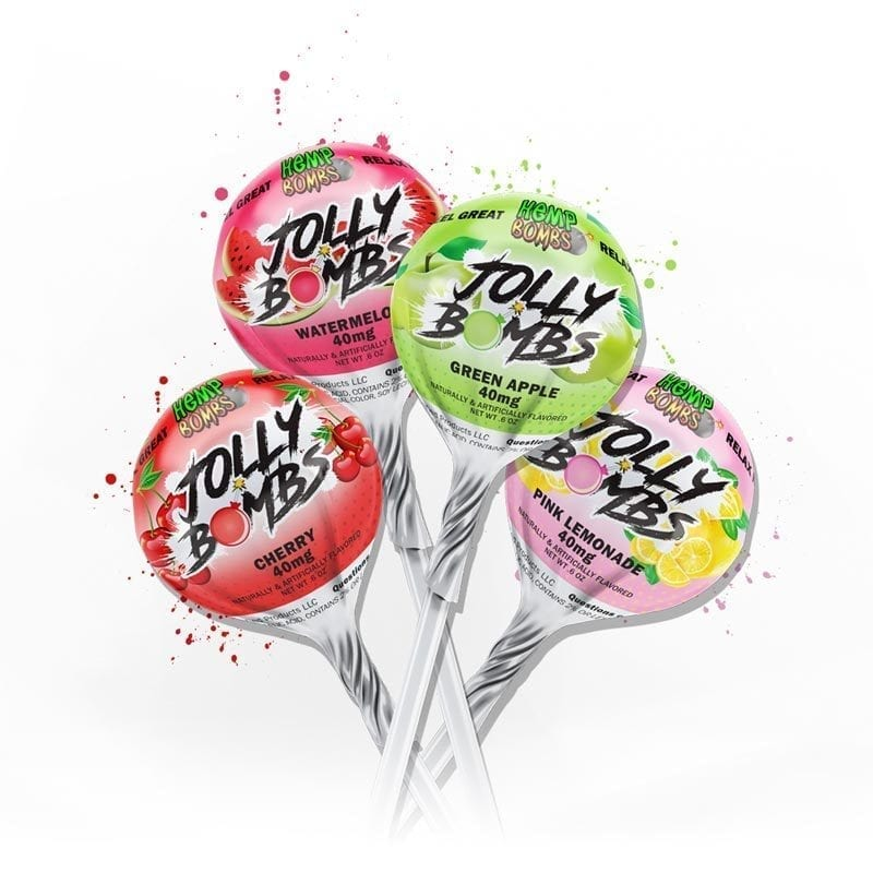 Hemp Bombs Lollipops
