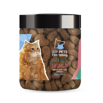 Joy Pets CBD Cat Treats Salmon