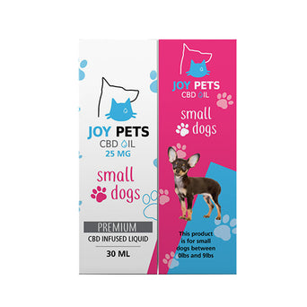 Joy Pets CBD Oil For Small Dogs Packaging