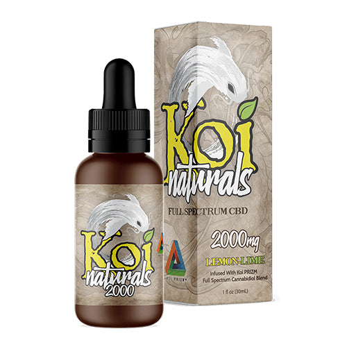 Koi Lemon-Lime CBD Oil Tincture