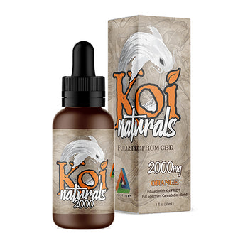 Koi Orange CBD Oil Tincture