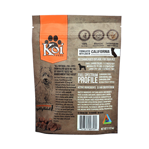 Koi Pets CBD Soft Chews Back