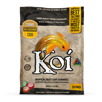 Koi Tropical Fruit CBD Gummies