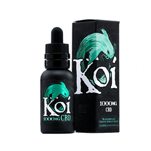Koi Watermelon Green Apple Sour CBD E-Liquid