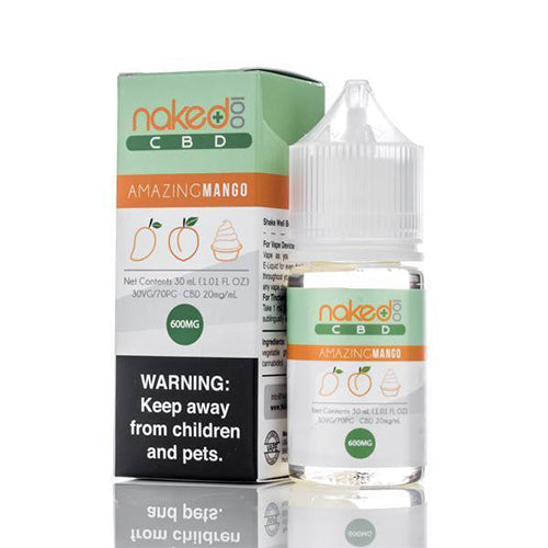 Naked 100 CBD Amazing Mango E-Liquid